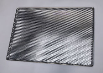 460*660 Mm Perforated Drying Stainless Steel Mesh Tray For Dry Herbs